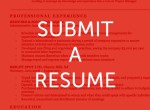 Submit a Resume