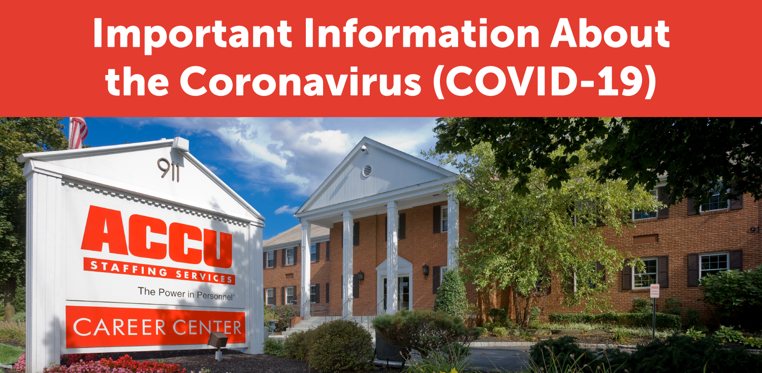 Important Update Regarding the Coronavirus