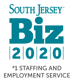 South Jersey Biz 2020 #1 Staffing and Employment Service