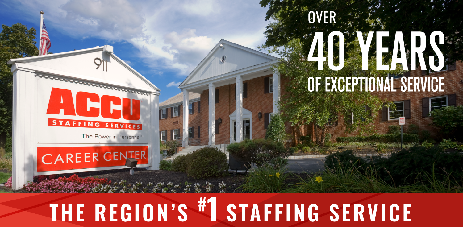 The Region's #1 Staffing Service